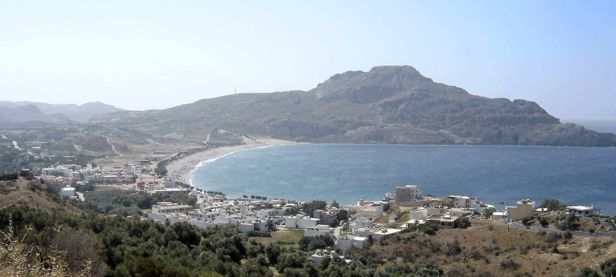 The Plakias Bay